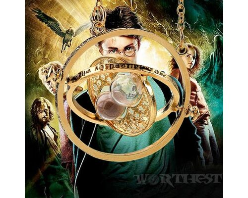 """Кулон """"Маховик времени"""" Гермионы Грейнджер из фильма Гарри Поттер!"""