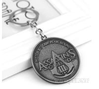 "Брелок ""Кредо Ассасина"" Игра Assassin's Creed Ассасин Крид подарок!"
