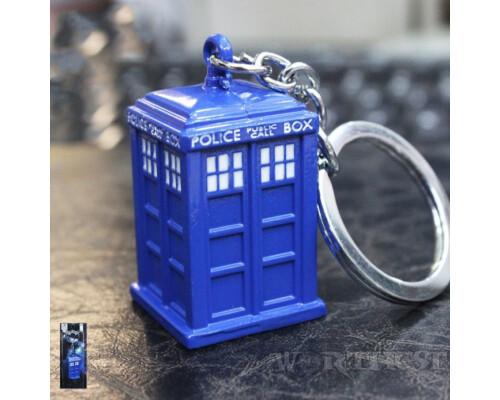 Брелок Тардис Доктор Кто фильм/сериал Tardis сталь подарок Doctor Who!