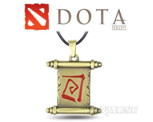 [Dota2] Медальон Свиток Телепортации стальной ТП PS4 игры дота2