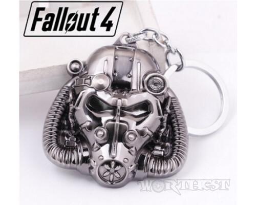 Брелок Шлем из Силовой брони Fallout 4 игры Фаллаут Power Armor!