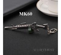"""Брелок пулемет """"MK60"""" из CS:GO модель из Fortnite игры!"""