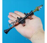 Брелок Базука|Ракетница(Bazooka) модель РПГ из Fortnite игры!