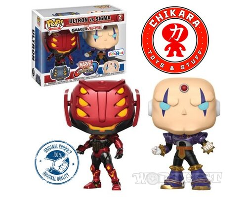 Фигурка [Funko POP 2-Pack] ULTRON vs. SIGMA Marvel vs. Capcom Avengers!