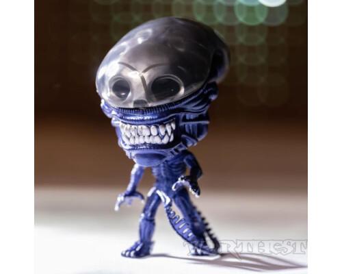 Фигурка Funko POP! Alien 40th - Xenomorph Blue Metallic Specialty Series #731!