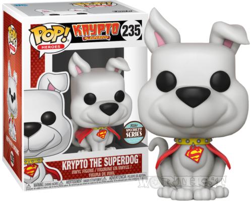 Фигурка Funko POP! Крипто Суперпес (Krypto the Superdog) 235 Comics