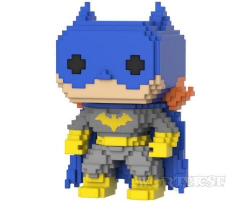 Funko POP 8-BIT! Фигурка Бэтгерл (Batgirl) 8-Bit DC Classic #02 Фанко ПОП