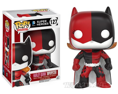 [Funko POP] Фигурка Dc Comics Harley Quinn / Batgirl Impopster Отряд Самоубийц #127