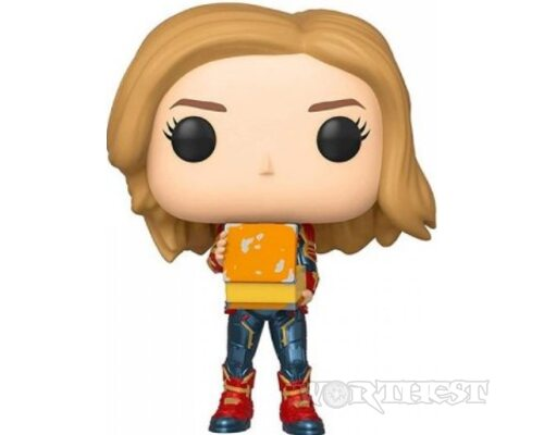 Фигурка Funko POP! Captain Marvel Капитан Марвел #444 marvel Фанко Поп