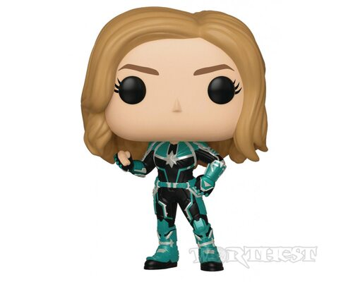 Фигурка Funko Pop! Captain Marvel Vers Капитан Марвел Верс в шлеме #427