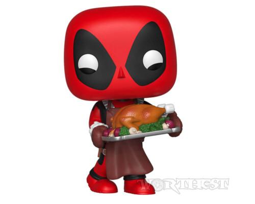 Фигурка Funko POP! Deadpool Празничный Дэдпул Marvel Holiday 543