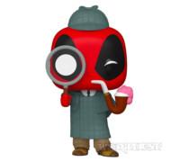 Фигурка Funko POP! Bobble Marvel Deadpool 30th Sherlock Шерлок 784