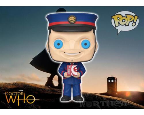 Фигурка Funko POP! Doctor Who! Доктор Кто Человек Керблам The Kerblam Man!