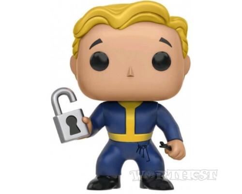 Фигурка Funko POP! Fallout 4 Locksmith Фаллаут Взломщик игры 118!