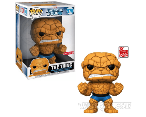 Фигурка Funko POP! Fantastic Four Существо The Thing 10-inch Эксклюзив