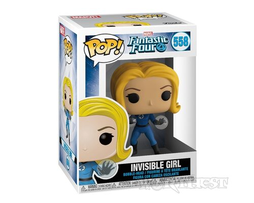 Фигурка Funko POP! Fantastic Four Невидимая Девушка (Invisible Girl) 558