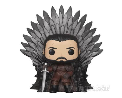 Фигурка Funko POP! Deluxe: Game of Thrones - Jon Snow Sitting On Iron Throne 72