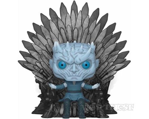 Фигурка Funko Pop Deluxe: Game of Thrones - Night King Sitting on Iron Throne #74!