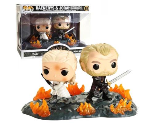 Фигурка Funko POP! Game Of Thrones Daenerys & Jorah Battle Of Winterfell