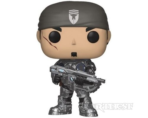 Фигурка Funko POP! Gears Of War Marcus Fenix Games #474 кукла статуя!