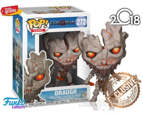 Фигурка Funko Pop Games! God of War Draugr|Драугр - #272 Skyrim PS4!