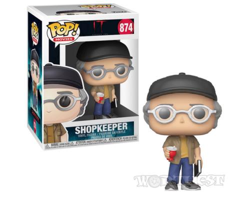 Фигурка Funko POP! IT 2 Stephen King ShopKeeper Стивен Кинг Оно 2 874!