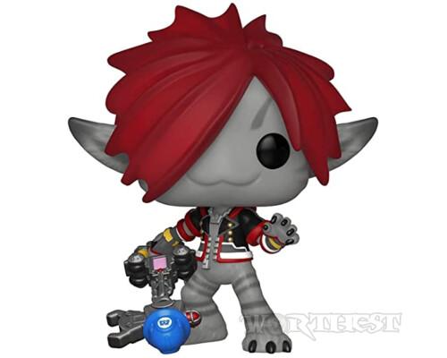 Фигурка Funko POP! Kingdom Hearts III Flocked Monsters Inc Sora 485 Сора