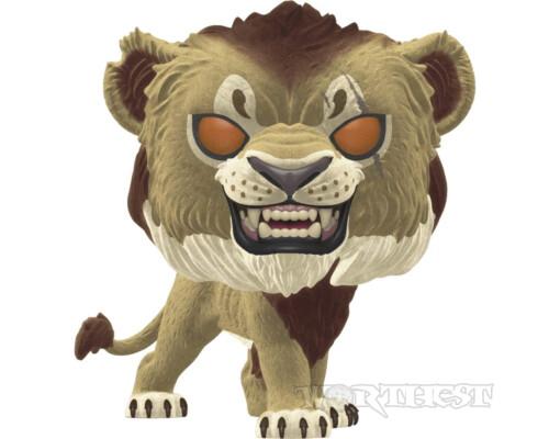 Фигурка Funko POP! The Lion King Scar Шрам Flocked Exclusive антагонист #548