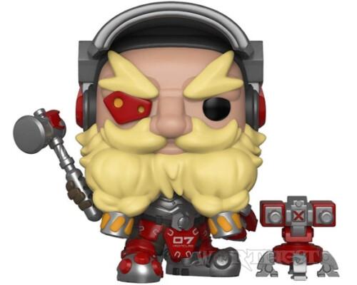 Фигурка Funko Pop Games: Overwatch - Torbjörn Торбьорн овервотч #350!