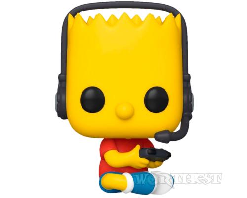 Фигурка Funko POP! The Simpsons Барт Симпсон геймер (Gamer Bart) 1035