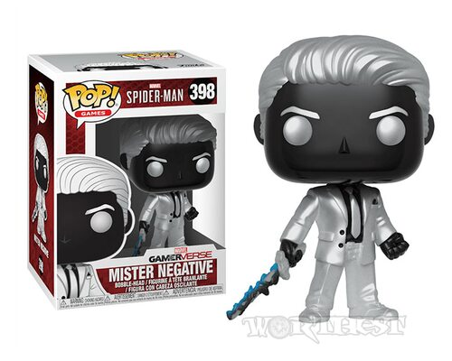 Фигурка Funko POP! Spider Man Mister Negative Человек Паук Мистера Негатив
