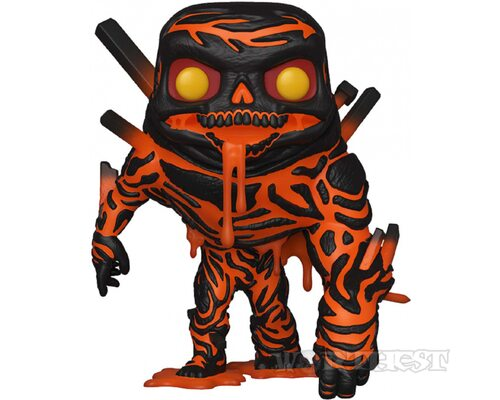 Фигурка Funko Pop! Spider-Man: Far from Home - Molten Man Человек-паук!