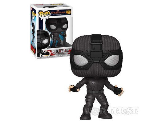 Фигурка Funko POP! Spider-Man Far From Home Stealth Suit 469!