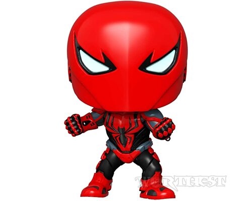 Фигурка Funko POP! Spider-Man Spider-Armor MK III #670 Exclusive Спайдермен