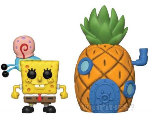 Фигурка Funko Pop! Town: Spongebob Squarepants - Spongebob with Pineapple!