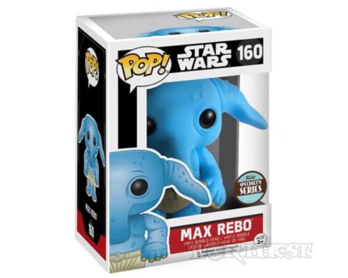 Фигурка Funko POP! Max Rebo Star Wars Specialty Series Макс Ребо #160!