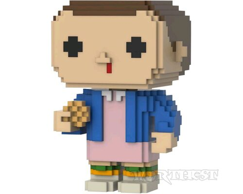 Фигурка Funko POP 8-BIT! Eleven with Eggos Exclusive Stranger Things #16!