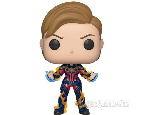 Фигурка Funko Pop! Captain Marvel with New Hair Капитан Мстители