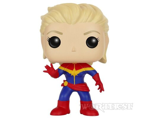 Фигурка Funko POP! Captain Marvel Unmasked Капитан Марвел Marvel без маски