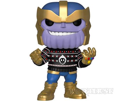 Фигурка Funko POP! Marvel Holiday - Thanos Праздничный Марвел Танос