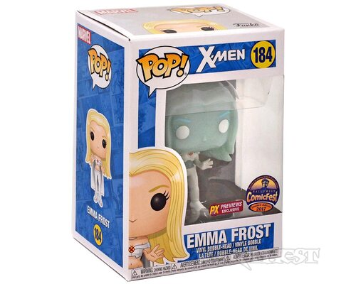 Фигурка Funko POP! X-Men Emma Frost Clear PX Exclusive Comic Fest 2017 184