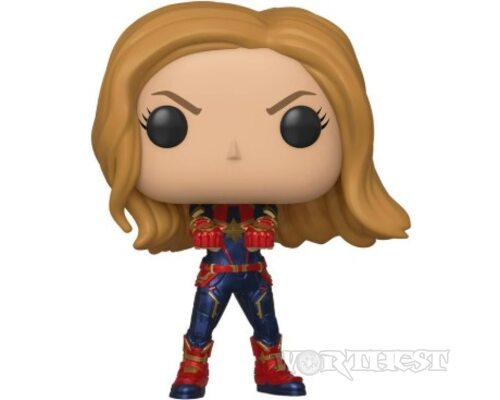 Фигурка Капитан Марвел - Funko Pop Marvel Avengers Endgame - Captain Marvel