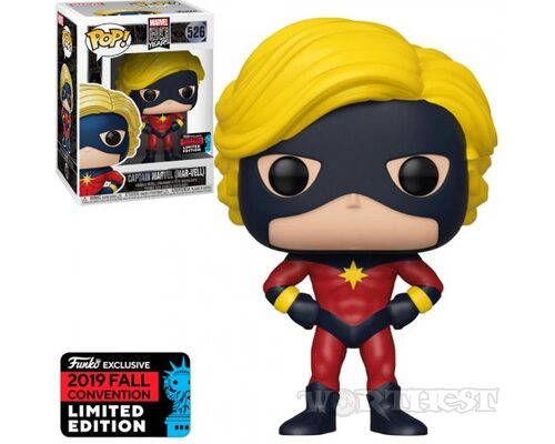 Фигурка Funko POP! Marvel 80th Captain Marvell (Mar-Vell) Мар-Велл 526