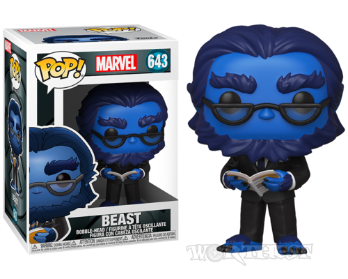 Фигурка Funko POP! X-Men 20th Anniversary Beast Люди Икс Зверь 643 Marvel