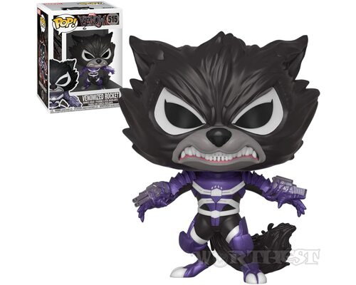 Фигурка Funko POP! Marvel Venom Venomized Rocket Raccoon Веном 515!