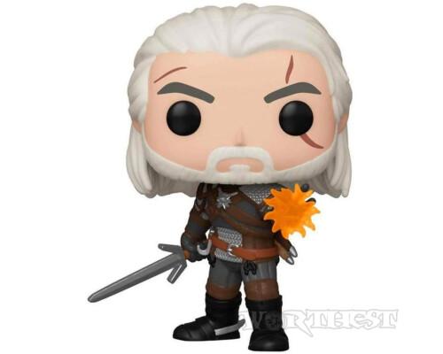 Фигурка Funko POP! Witcher 3: Wild Hunt Geralt (Igni) Exclusive Геральт с Игни 554