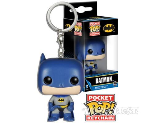 FUNKO POCKET POP! KEYCHAIN: DC COMICS - BATMAN|Бэтмен 1966!