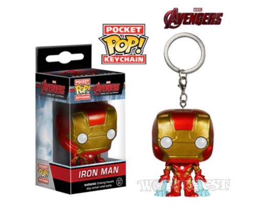 [Funko POP] Брелок-фигурка Железный человек Iron man MARVEL Тони Старк