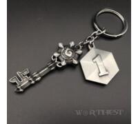 Брелок Hearthstone ТОП 1 Ключ Хартстоун Blizzard игровой Warcraft WoW