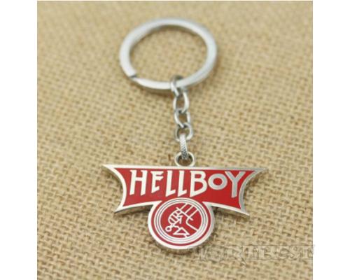 Брелок Хеллбой|Hellboy стальной Фильм Комиксы DC Marvel Игры diablo!